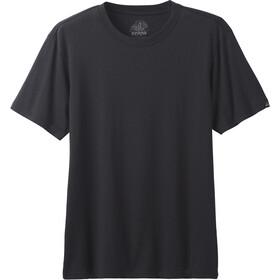 Prana Crew T-shirt Heren, zwart